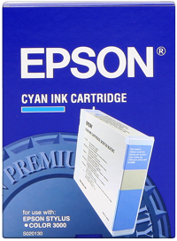 Tinte f. Epson Stylus Color 3000/5000 [S020130] cyan