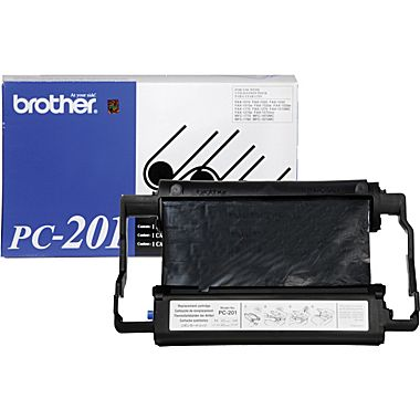 Farbband f. Brother Fax 1010/20/30 [PC-201] Kassette