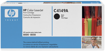 Toner f. HP Color LaserJet 8500/8550 [C4149A] black