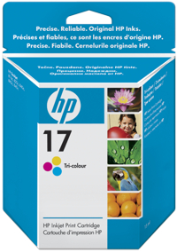 Tinte f. HP Deskjet 840C [C6625A] Nr.17 color