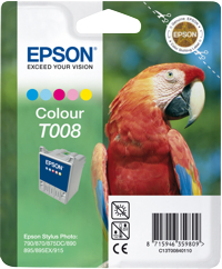 Tinte f. Epson Stylus Photo 790/870 [T008401] color