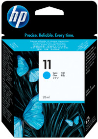 Tinte f. HP Business Inkjet 1100 [C4836A] Nr.11 cyan