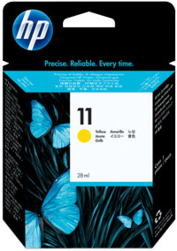 Tinte f. HP Business Inkjet 1100 [C4838A] Nr.11 yellow