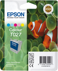 Tinte f. Epson Stylus Photo 810/830 [T027401] color