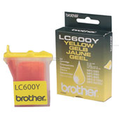 Tinte f. Brother MFC-890 [LC-600Y] yellow