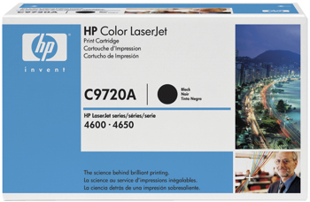 Toner f. HP Color LaserJet 4600 [C9720A] Nr.641A black