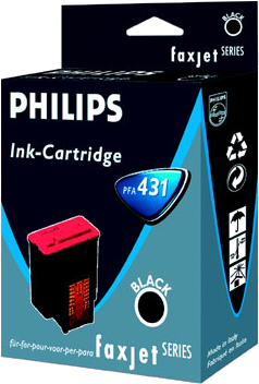 Tinte f. Philips Faxjet 300/320/325/355 [PFA-431] black