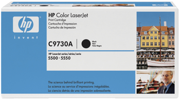 Toner f. HP Color LaserJet 5500/5550 [C9730A] Nr.645A black