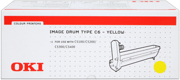Drumkit f. OKI C5100/200/300 [42126605] yellow