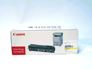 Toner f. Canon CP-660 [1512A003] (EP-84Y) yellow