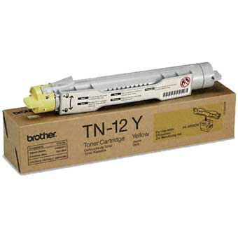 Toner f. Brother HL-4200 [TN-12Y] yellow