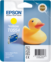 Tinte f. Epson Stylus Photo RX420 [T055440] yellow