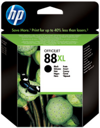 Tinte f. HP Officejet Pro K550/5400 [C9396A] Nr.88XL black