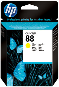 Tinte f. HP Officejet Pro K550/5400 [C9388A] Nr.88 yellow