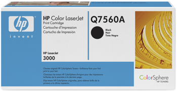 Toner f. HP Color LaserJet 2700/3000 [Q7560A] Nr.314A black