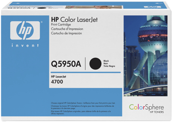 Toner f. HP Color LaserJet 4700 [Q5950A] Nr.643A black
