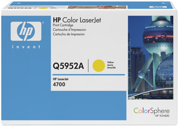 Toner f. HP Color LaserJet 4700 [Q5952A] Nr.643A yellow