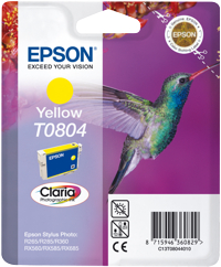 Tinte f. Epson Stylus Photo R265 [T080440] yellow