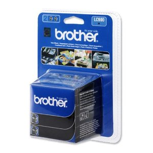 Tinte f. Brother MFC-210C [LC-900BKBP2] black 2er VE