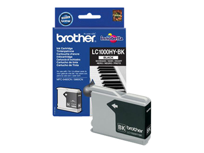 Tinte f. Brother MFC-660 [LC-1000HYBK] HC black