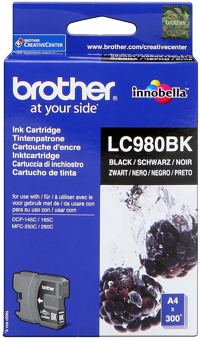 Tinte f. Brother DCP-145C [LC-980BK] black