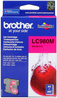 Tinte f. Brother DCP-145C [LC-980M] magenta