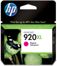 Tinte f. HP Officejet 6500 [CD973A] HC Nr.920XL magenta