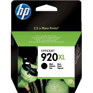 Tinte f. HP Officejet 6500 [CD975A] HC Nr.920XL black