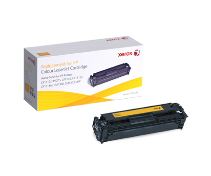 Toner f. HP Color LaserJet CP1215/1515/1518 [w.CB542A] Nr.125A yellow (12)