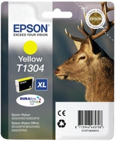 Tinte f. Epson Stylus Office BX320 [T13044010] yellow