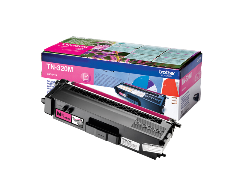 Toner f. Brother HL-4150 [TN-320M] magenta
