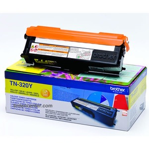 Toner f. Brother HL-4150 [TN-320Y] yellow