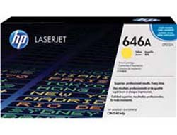 Toner f. HP Color LaserJet CM4540 [CF032A] Nr.646A yellow