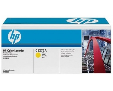 Toner f. HP Color LaserJet CP5525 [CE272A] Nr.650A yellow