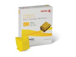 Tinte f. Xerox ColorQube 8870 [108R00956] yellow 6er VE