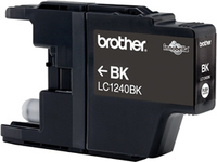 Tinte f. Brother MFC-J 6510 [LC-1240BK] black