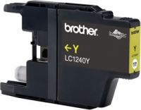 Tinte f. Brother MFC-J 6510 [LC-1240Y] yellow