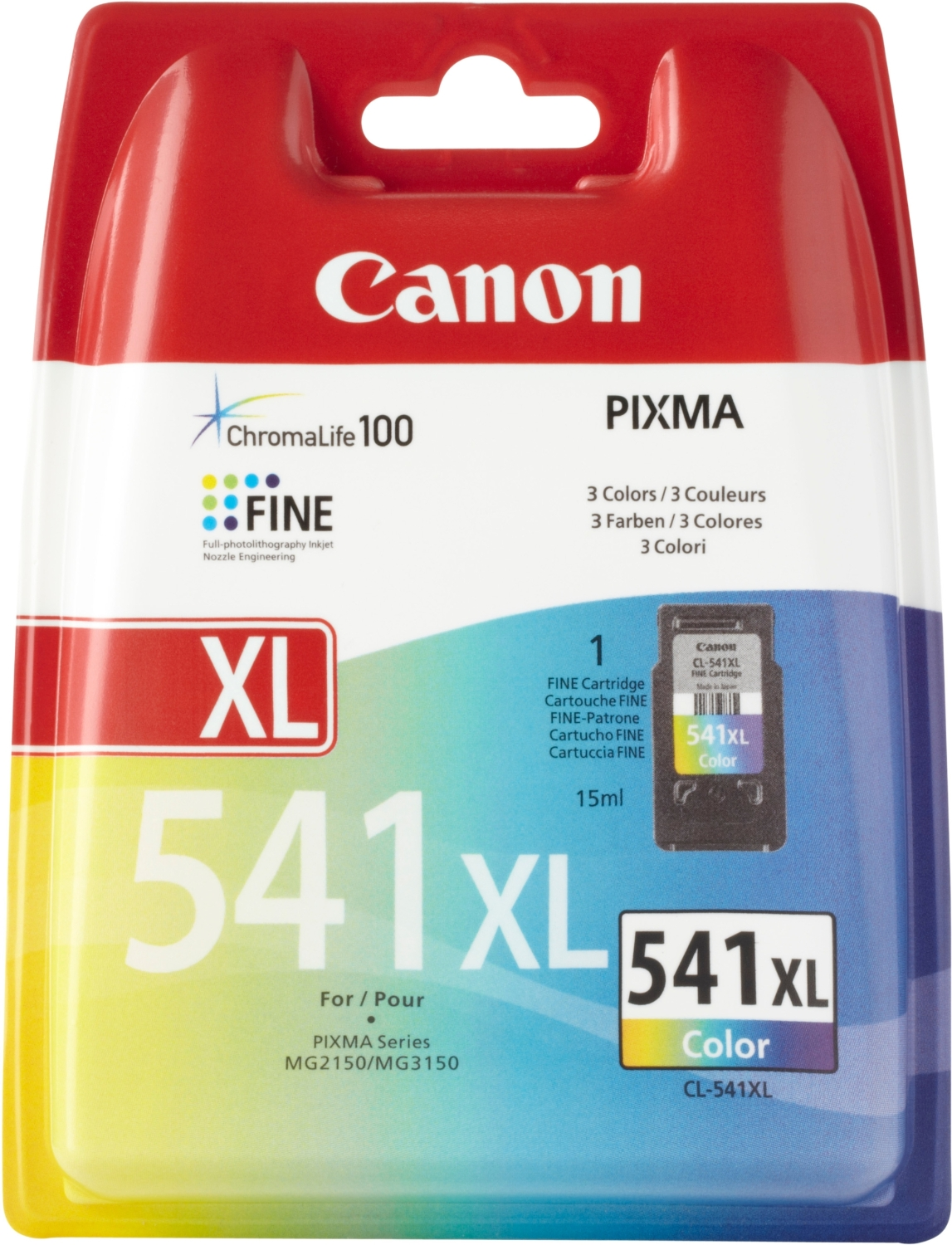 Tinte f. Canon Pixma MX435 [CL-541XL] HC color