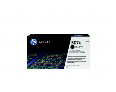 Toner f. HP LaserJet Enterprise 500 Color M551 [CE400X] HC Nr.507X black