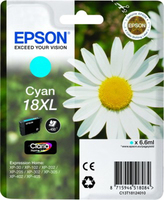 Tinte f. Epson Expression Home XP-30 [T18124010] Nr.18XL cyan