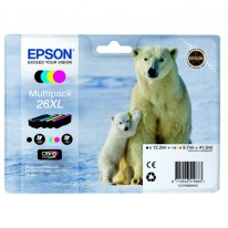 Tinte f. Epson Expression Premium XP-600 [T2636] HC Multipack black, cyan, magenta, yellow