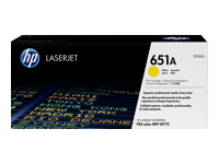 Toner f. HP LaserJet Enterprise 700 Color MFP M775dn [CE342A] Nr.651A yellow