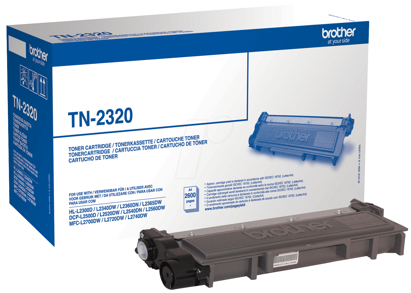 Toner f. Brother HL-L2300 [TN-2320] HC black