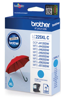 Tinte f. Brother MFC-J4620DW / 5720DW [LC-225XLC ] cyan