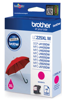 Tinte f. Brother MFC-J4620DW / 5720DW [LC-225XLM] magenta