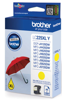 Tinte f. Brother MFC-J4620DW / 5720DW [LC-225XLY] yellow