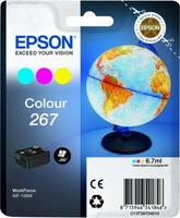 Tinte f. Epson WorkForce WF-100 [T26704010] Multip. cyan, magenta, yellow
