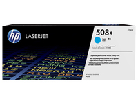 Toner f. HP Color LaserJet Enterprise M553 [CF361X] HC Nr.508X cyan