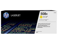 Toner f. HP Color LaserJet Enterprise M553 [CF362X] HC Nr.508X yellow