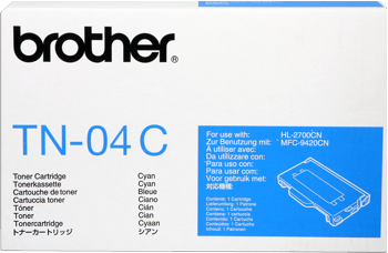 Toner f. Brother HL-2700 [TN-04C] cyan